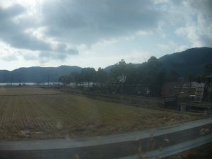 Rural Japan from the train