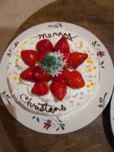 Pro Christmas Cake Strawberry