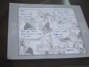 Day 2 in a 4koma nutshell