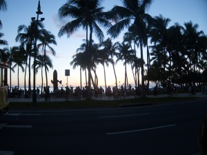 Sunrise @ Waikiki Beach