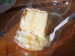 Lemon Crunch Cake... for breakfast!?