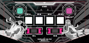 Sound Voltex controller mockup