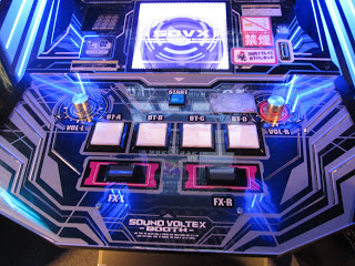 Sound voltex arcade machine example