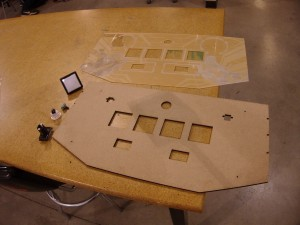 Top panel parts