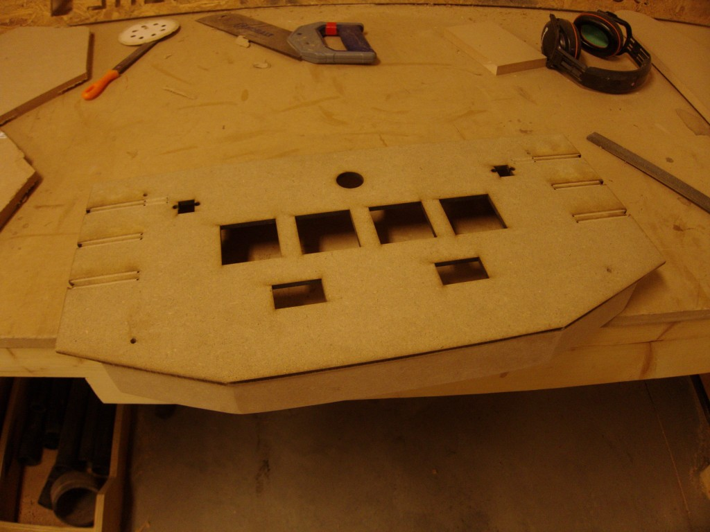 Main body + top panel