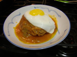 Stewed Hamburg Steak!