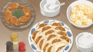 All kinds of gyoza!